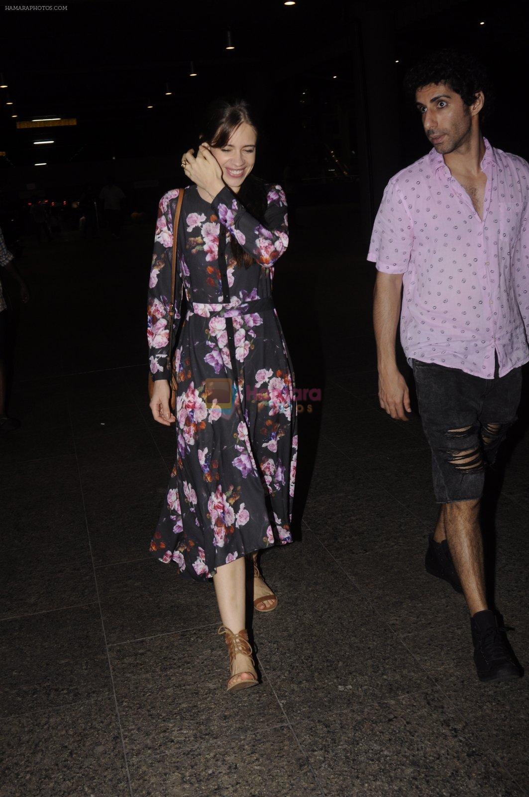 Kalki Koechlin snapped at airport on 20th Sept 2016
