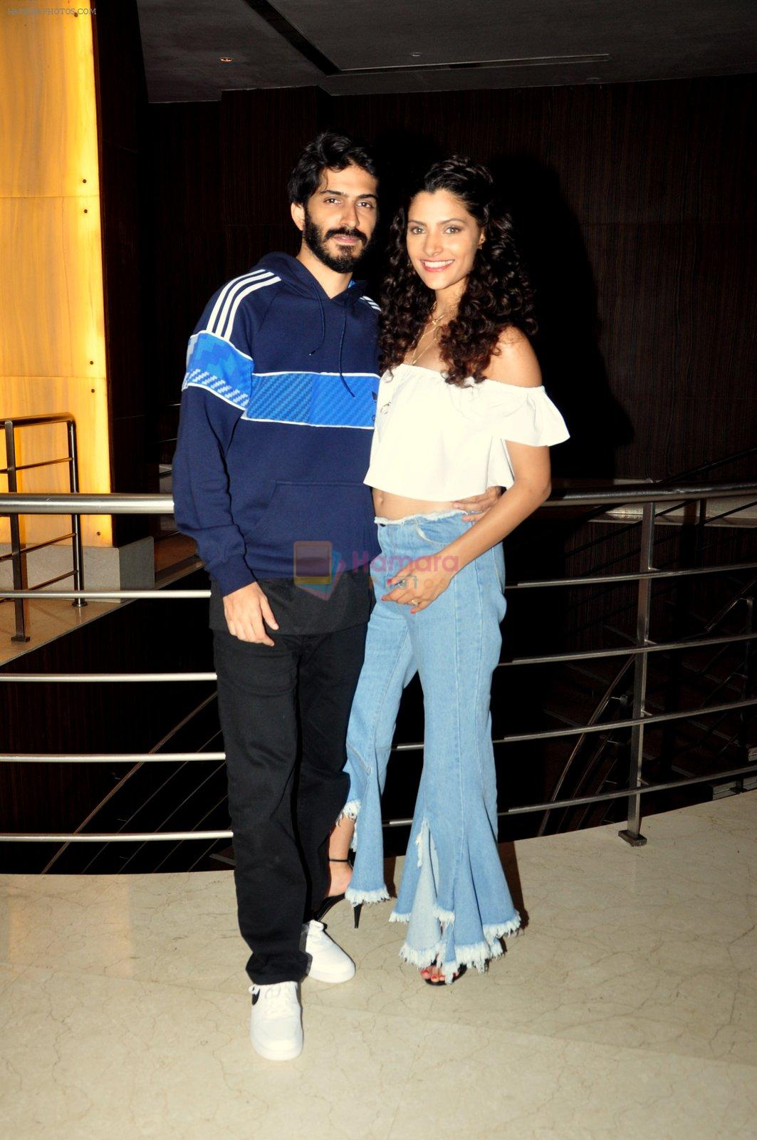 Harshvardhan Kapoor, Saiyami Kher snapped at the promotion of film Mirzya on 20th Sept 2016