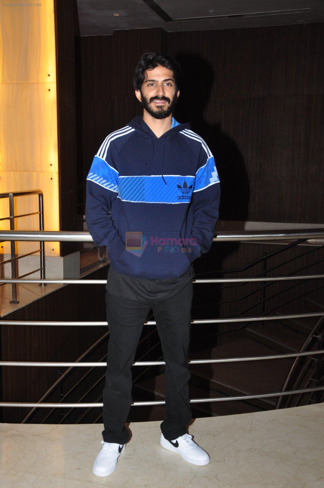 Harshvardhan Kapoor snapped at the promotion of film Mirzya on 20th Sept 2016