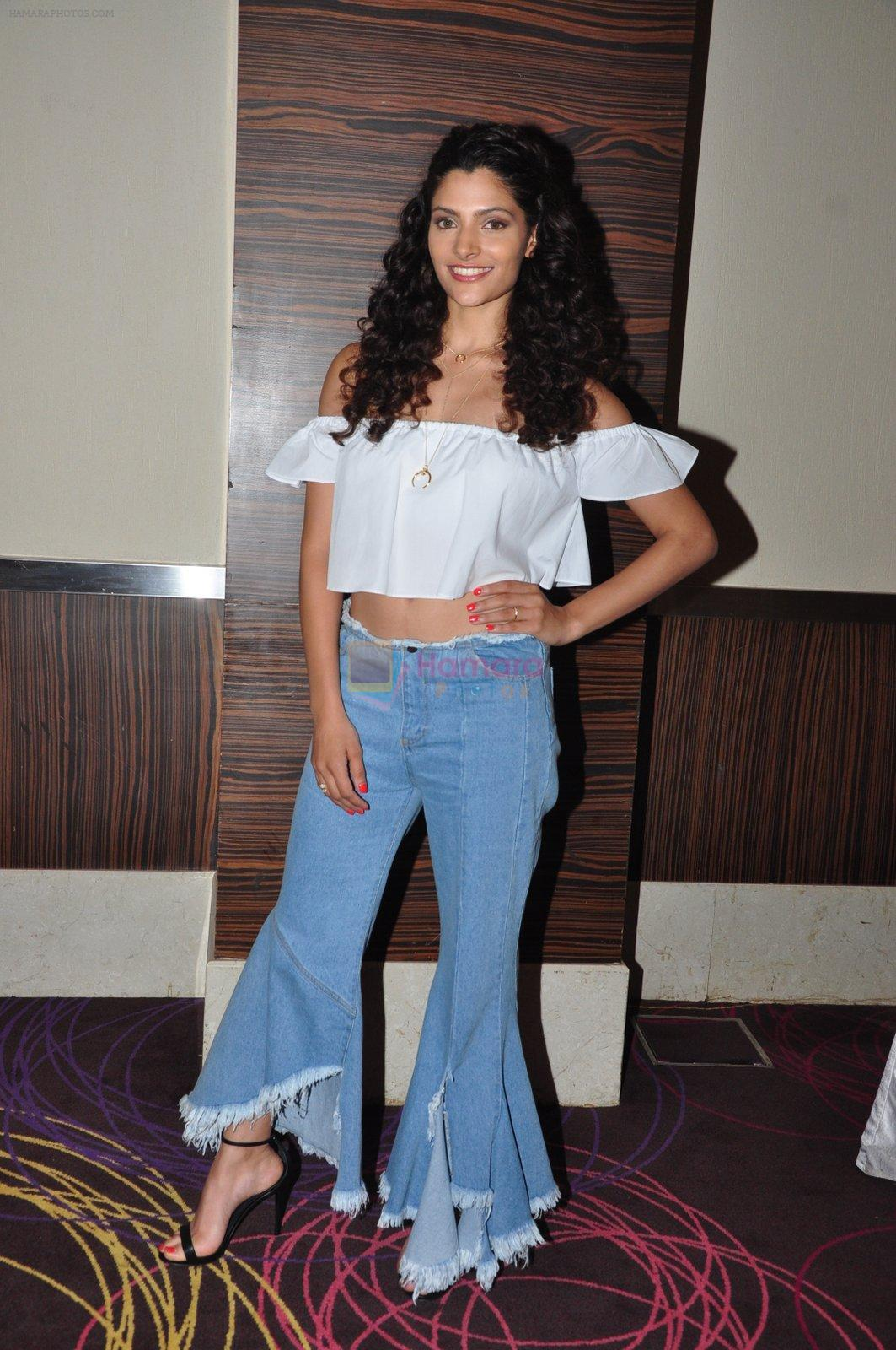 Saiyami Kher snapped at the promotion of film Mirzya on 20th Sept 2016