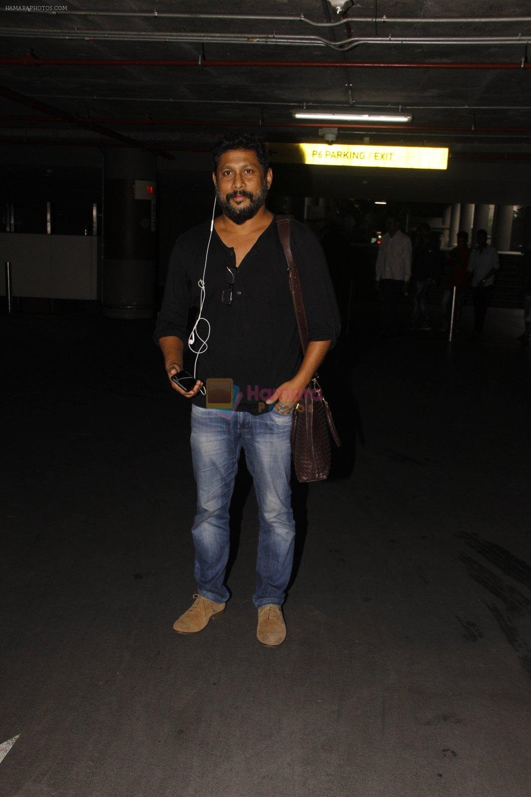 Shoojit Sircar snapped at airport on 22 Sept 2016