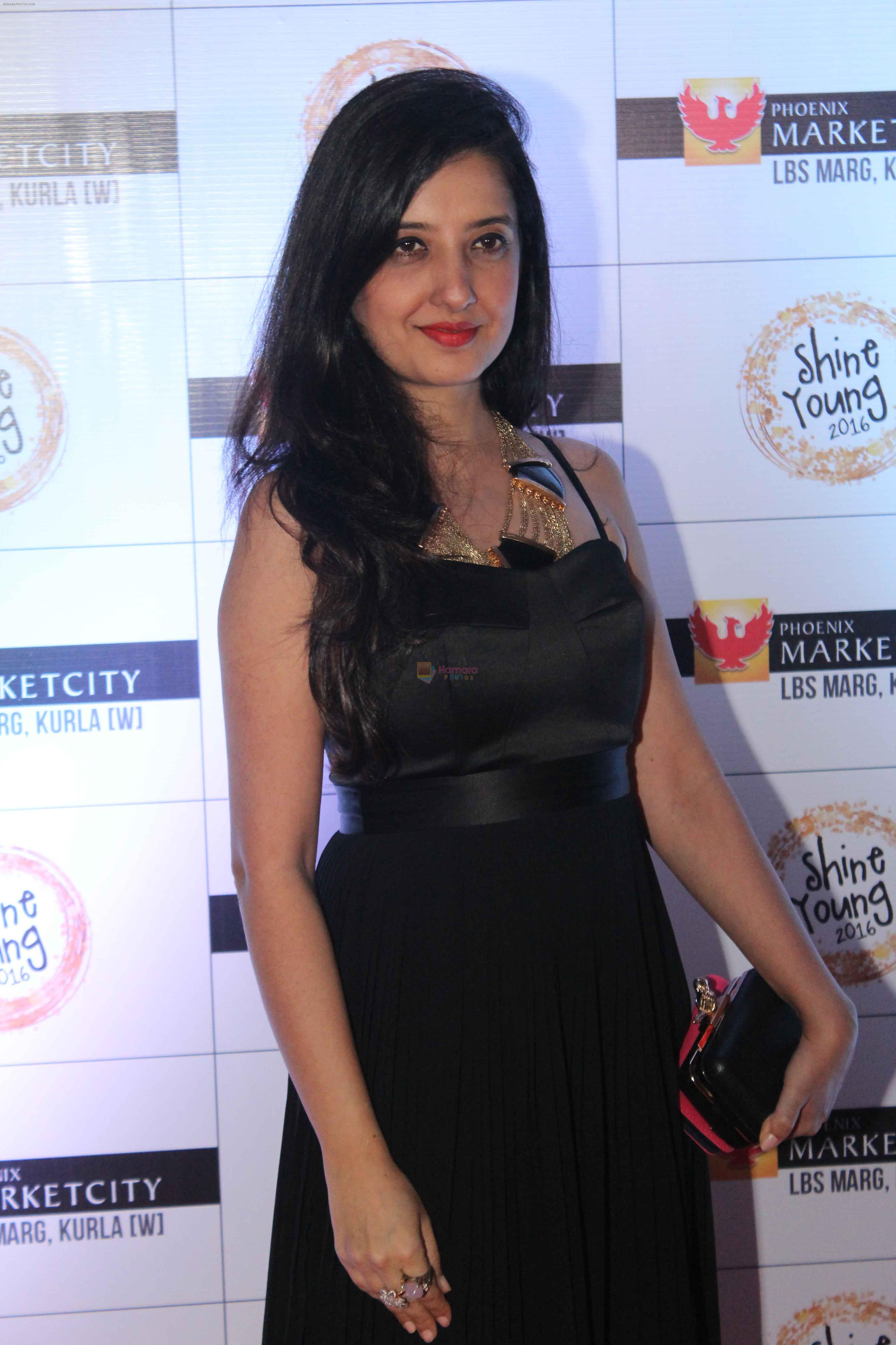 Amy Billimoria at Young Shine 2016 Launch