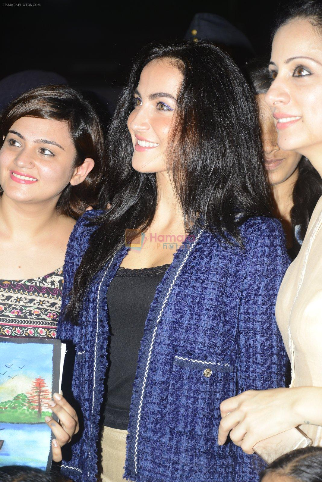 Elli Avram at Rouble Nagi and Rotary District 3141 Host World Deaf Day Art Camp and Cultural Activities on 24th Sept 2016