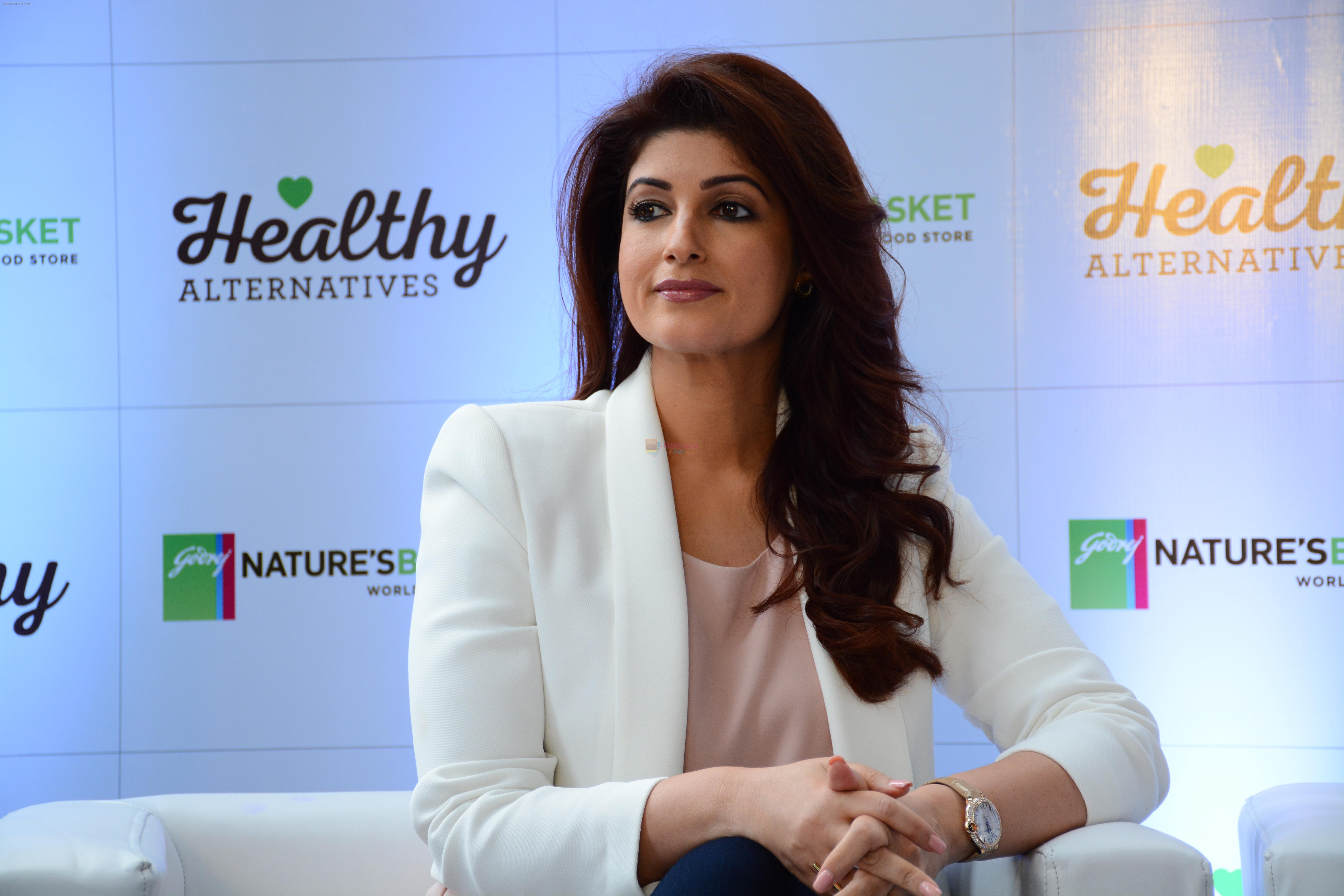 Twinkle Khanna during the launch of Healthy Alternatives
