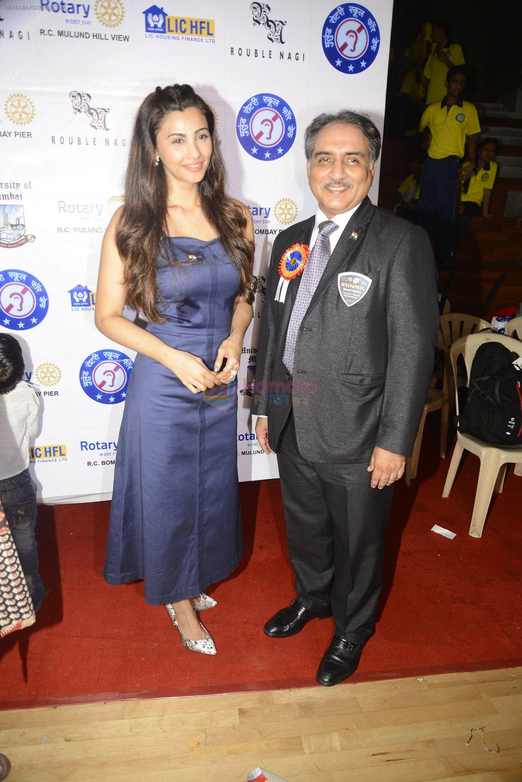 Daisy Shah at Rouble Nagi and Rotary District 3141 Host World Deaf Day Art Camp and Cultural Activities on 24th Sept 2016