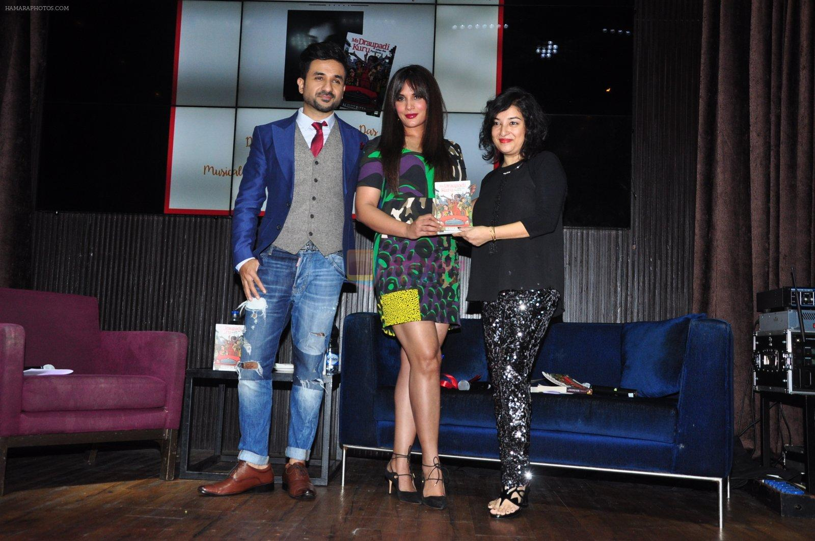 Richa Chadda, Vir Das launch Trisha Das new book Mrs Draupadi Kuru on 24th Sept 2016