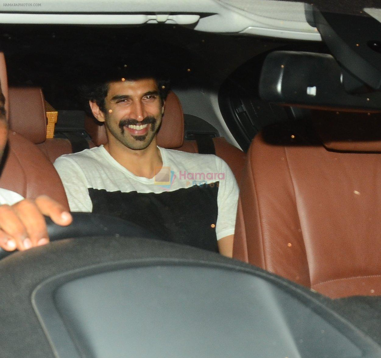 Aditya Roy Kapoor snapped at a private bash on 26th Sept 2016