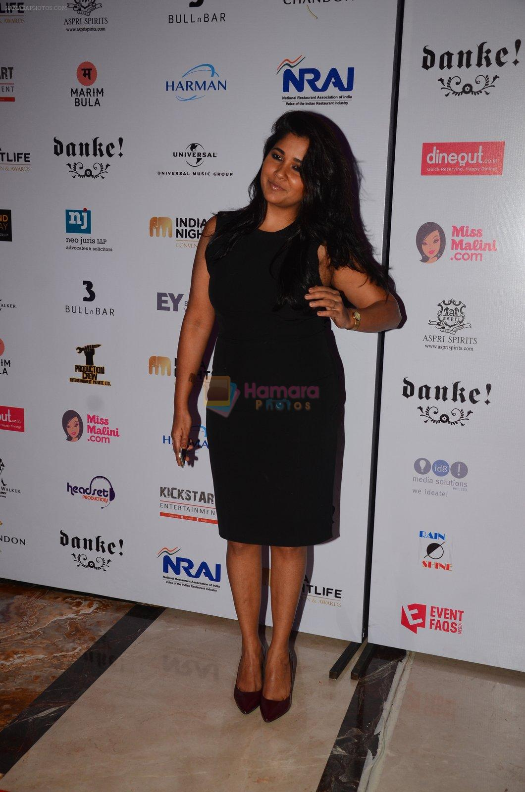 Narayani Shastri at Indian Nightlife convention on 26th Sept 2016
