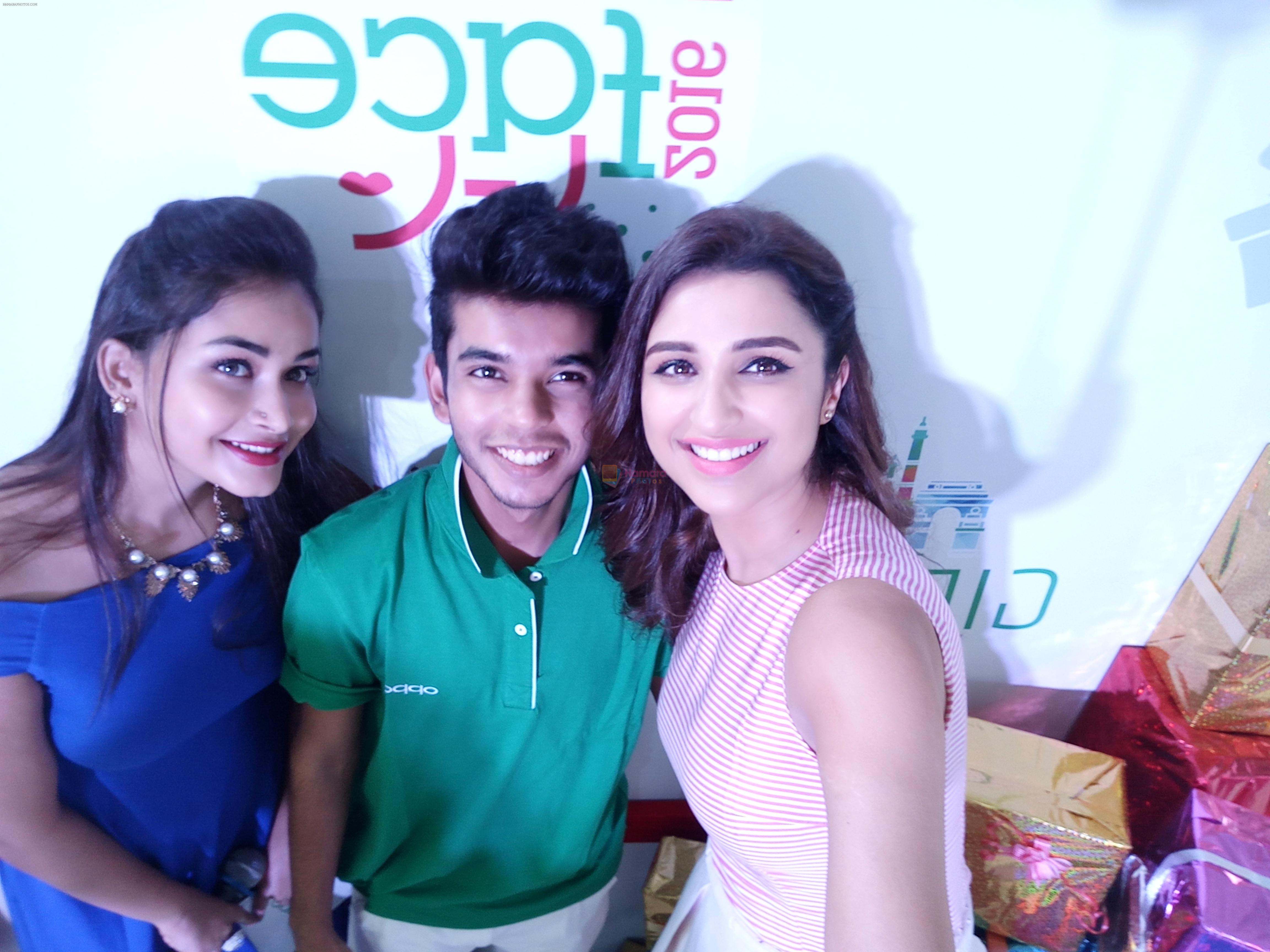 Parineeti Chopra snapped at oppo event