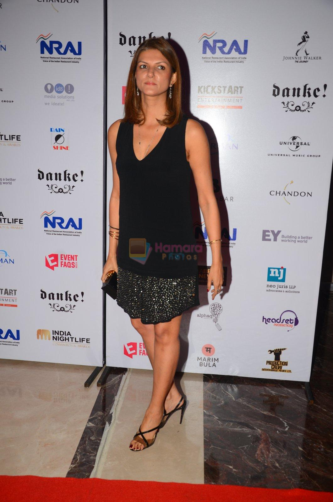 Nandita Mahtani at Indian Nightlife convention on 26th Sept 2016