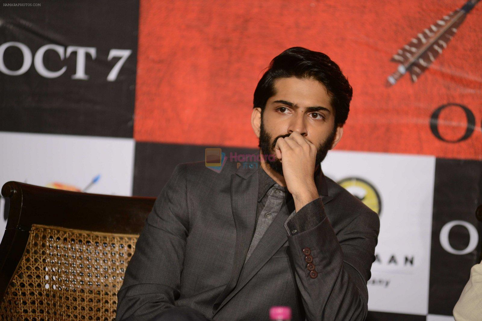 Harshvardhan Kapoor at Mirzya press conference in delhi on n26th Sept 2016