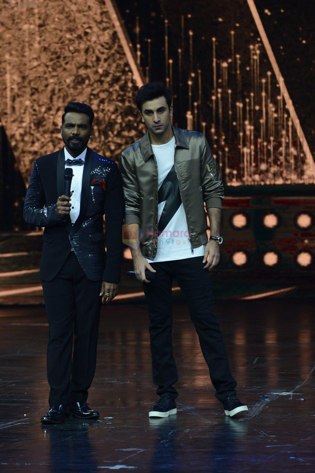 Ranbir Kapoor on the sets of Dance 2 plus finale on 25th Sept 2016