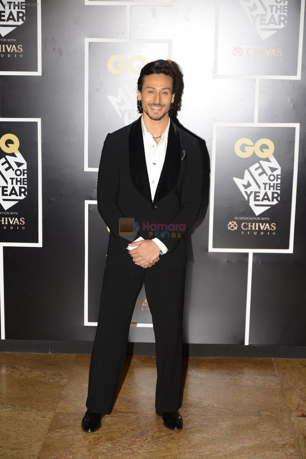 Tiger Shroff at GQ MEN OF THE YEAR on 27th Sept 2016