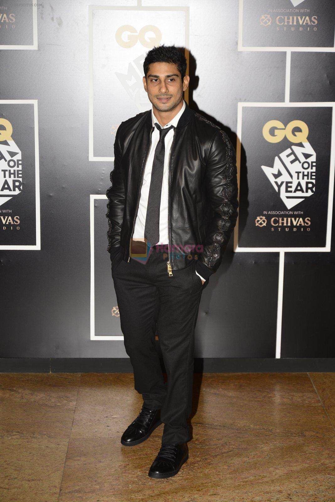 Prateik Babbar at GQ MEN OF THE YEAR on 27th Sept 2016