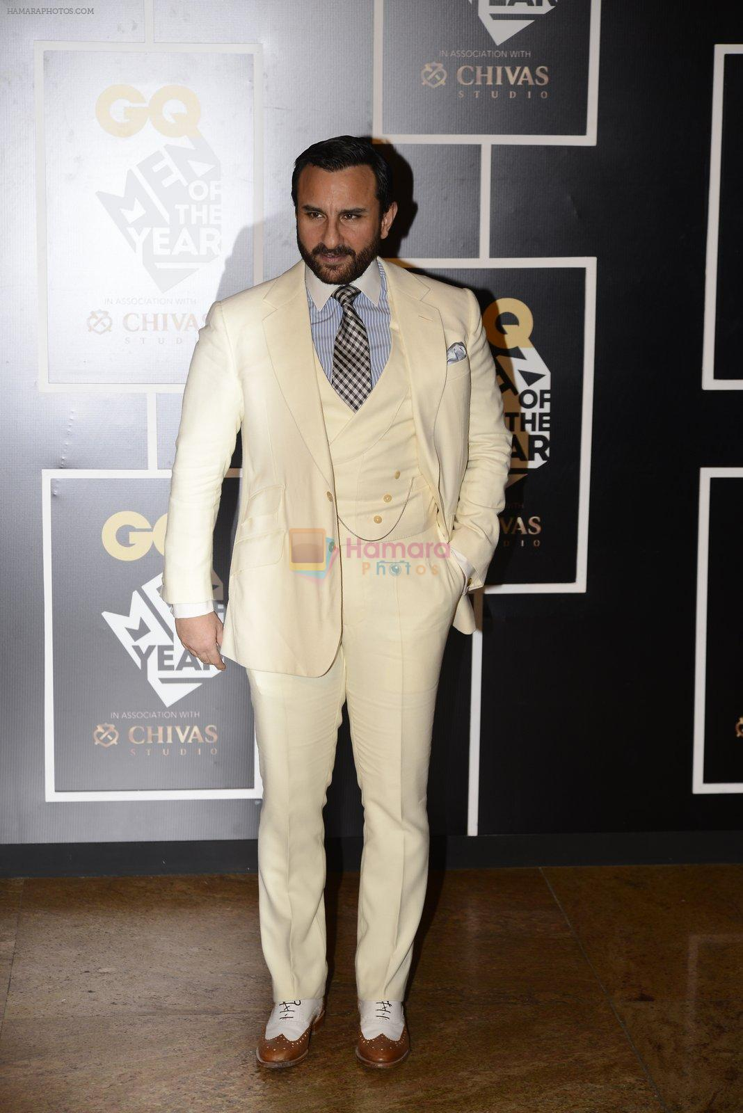 Saif Ali Khan at GQ MEN OF THE YEAR on 27th Sept 2016
