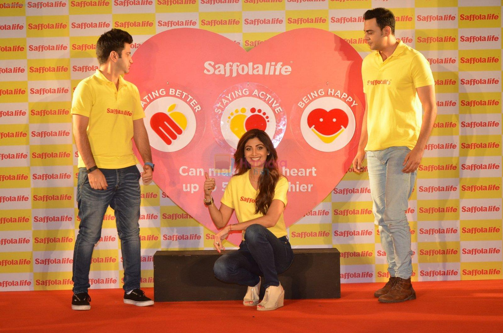 Shilpa Shetty during the World Heart Day program organized by Saffola Life in Mumbai on 28th Sept 2016