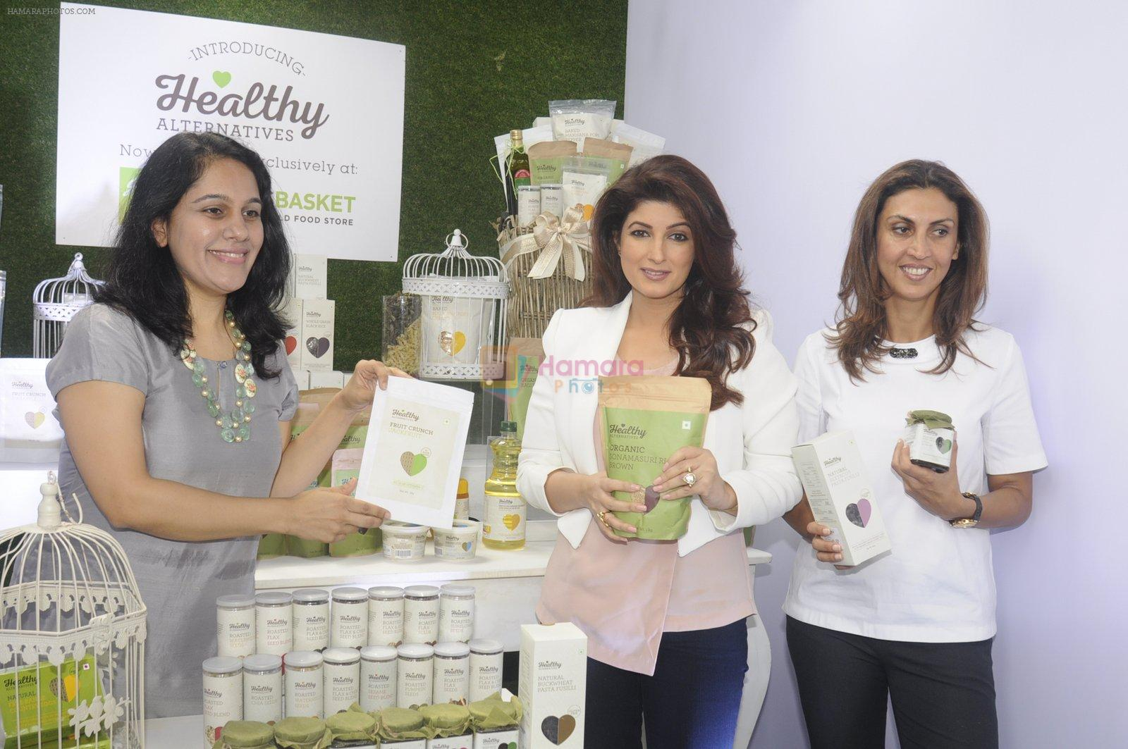 Twinkle Khanna during the launch of Godrej Nature's Basket Healthy Alternatives products in Mumbai on 27th Sept 2016