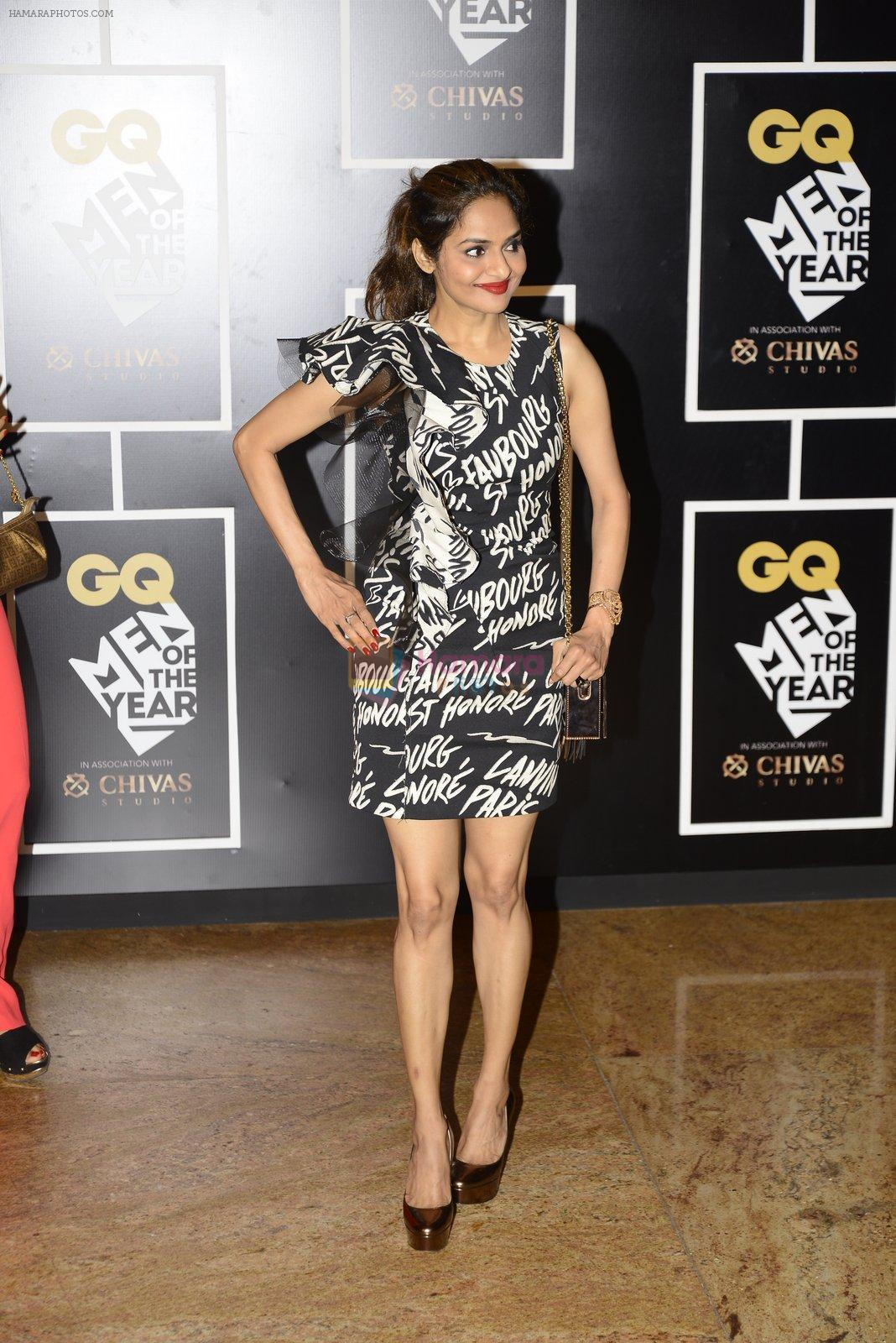 Madhoo at GQ MEN OF THE YEAR on 27th Sept 2016