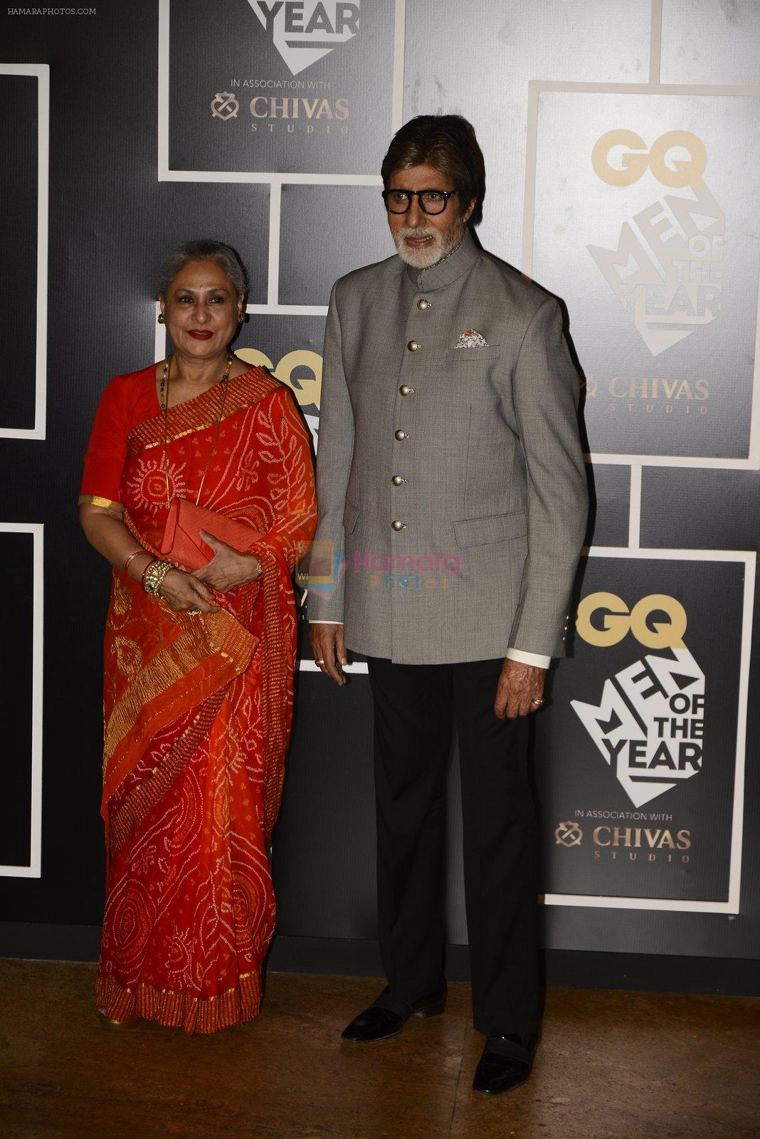 Amitabh Bachchan, Jaya Bachchan at GQ MEN OF THE YEAR on 27th Sept 2016