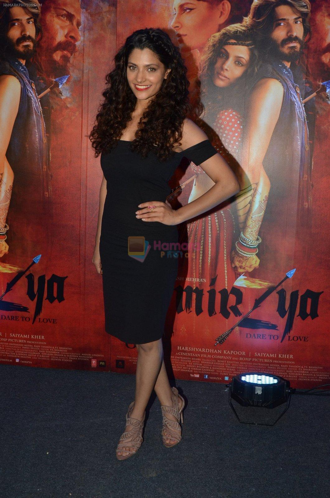 Saiyami Kher at Mirzya Success party