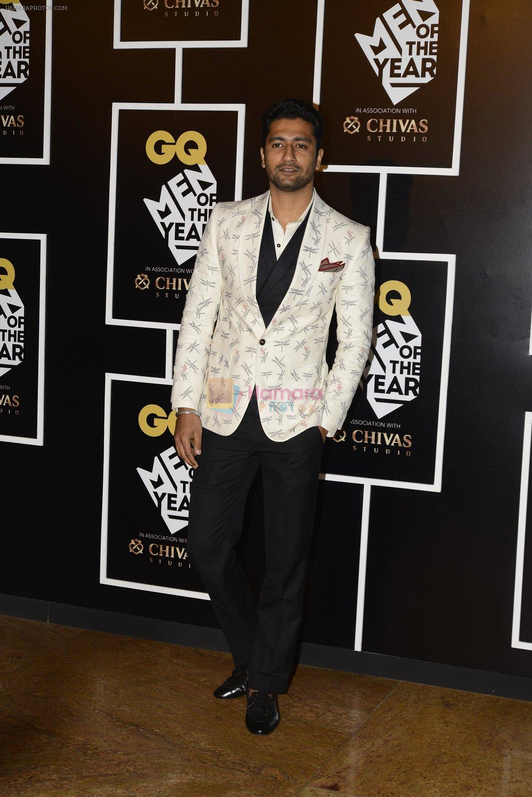 Vicky Kaushal at GQ MEN OF THE YEAR on 27th Sept 2016