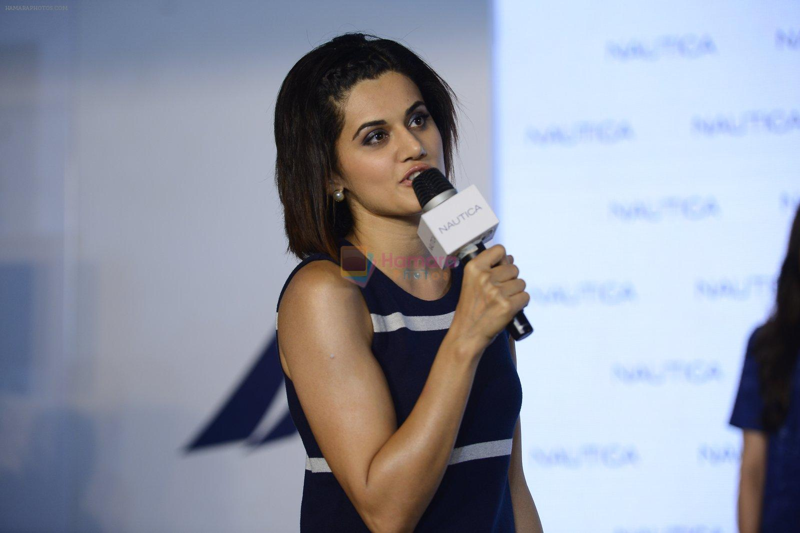 Taapsee pannu at nautica event on 28th Sept 2016