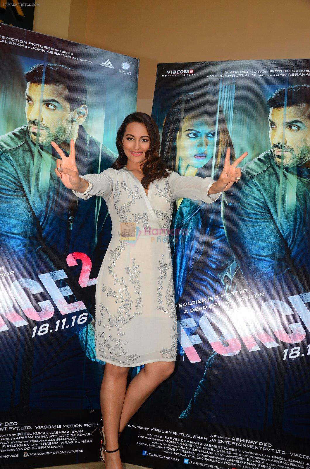 Sonakshi Sinha at Force 2 trailer launch in Mumbai on 29th Sept 2016