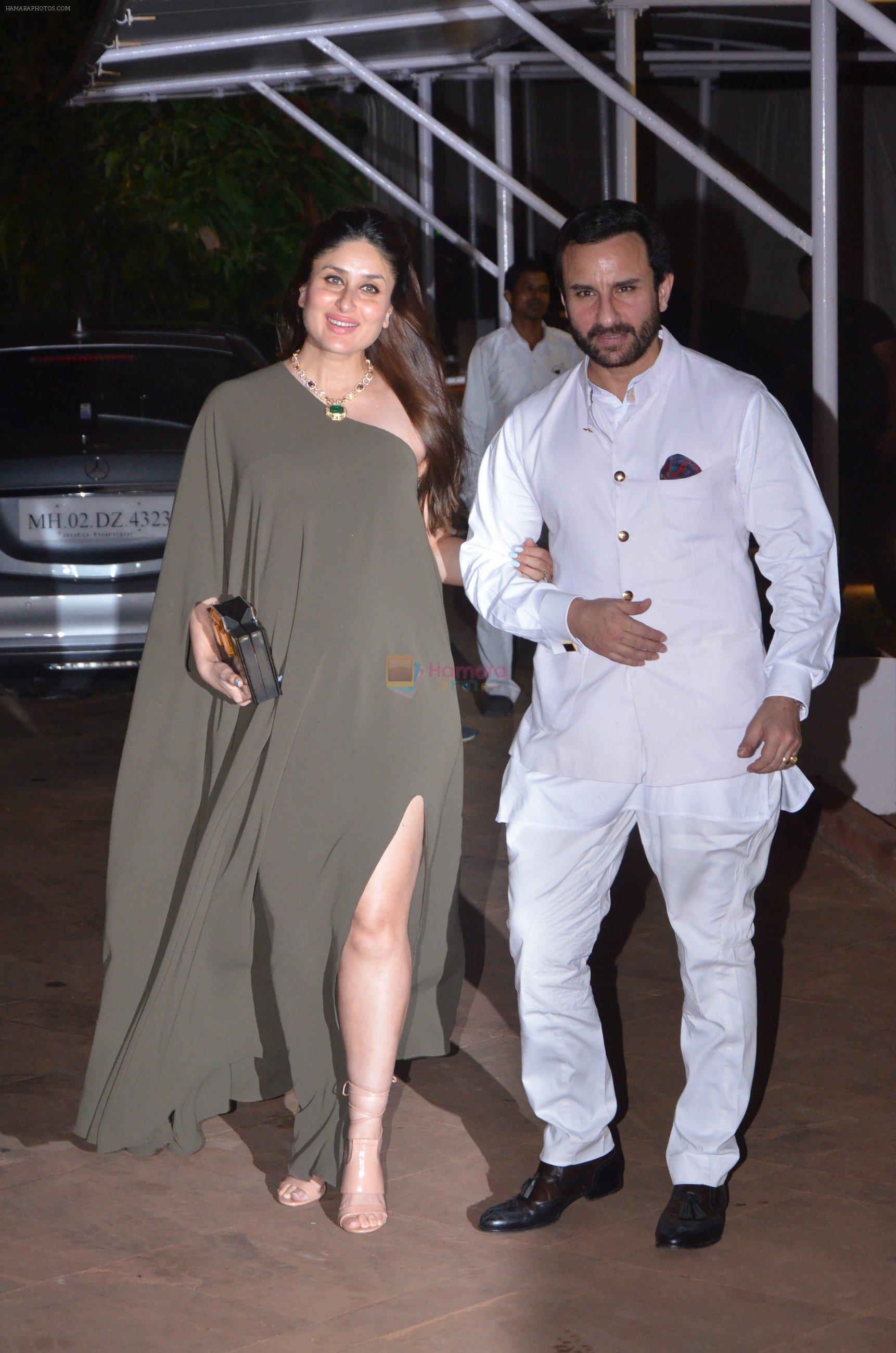 Saif Ali Khan, Kareena Kapoor at Reema jain bday party in Amadeus NCPA on 28th Sept 2016