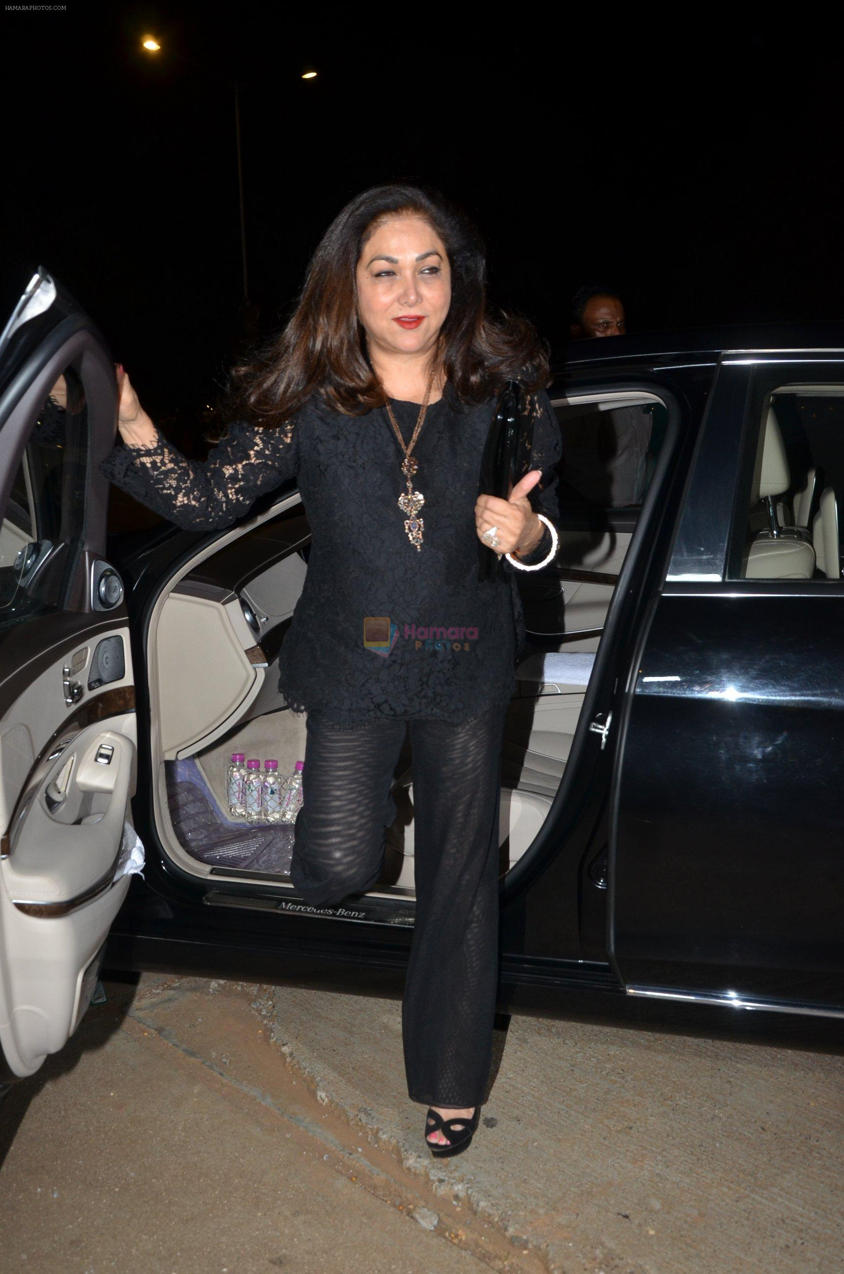 Tina Ambani at Reema jain bday party in Amadeus NCPA on 28th Sept 2016