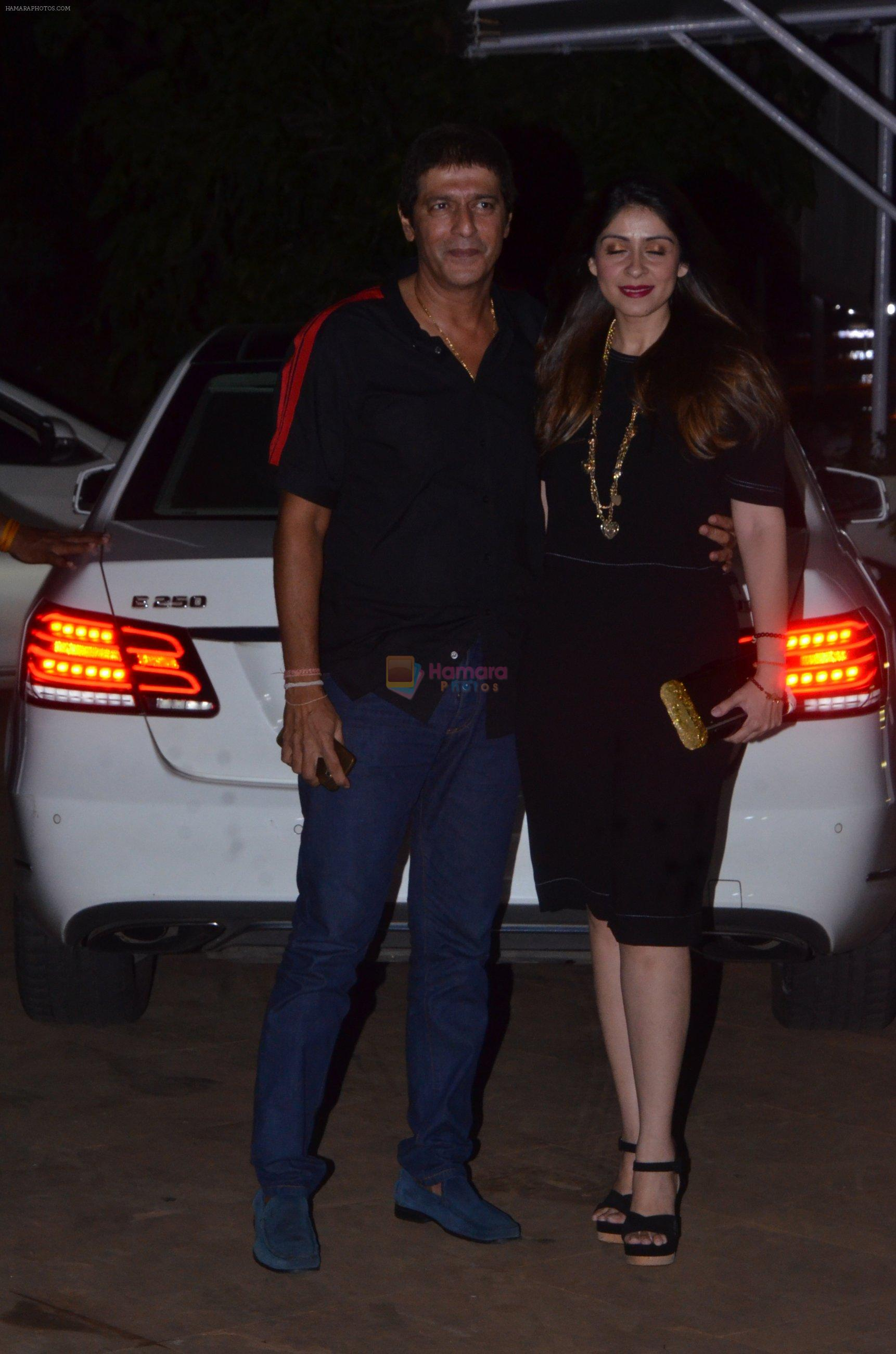 Chunky Pandey at Reema jain bday party in Amadeus NCPA on 28th Sept 2016
