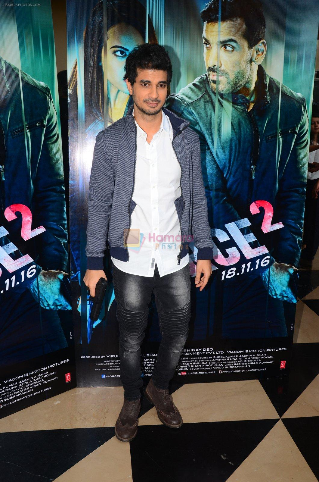 Tahir Bhasin at Force 2 trailer launch in Mumbai on 29th Sept 2016