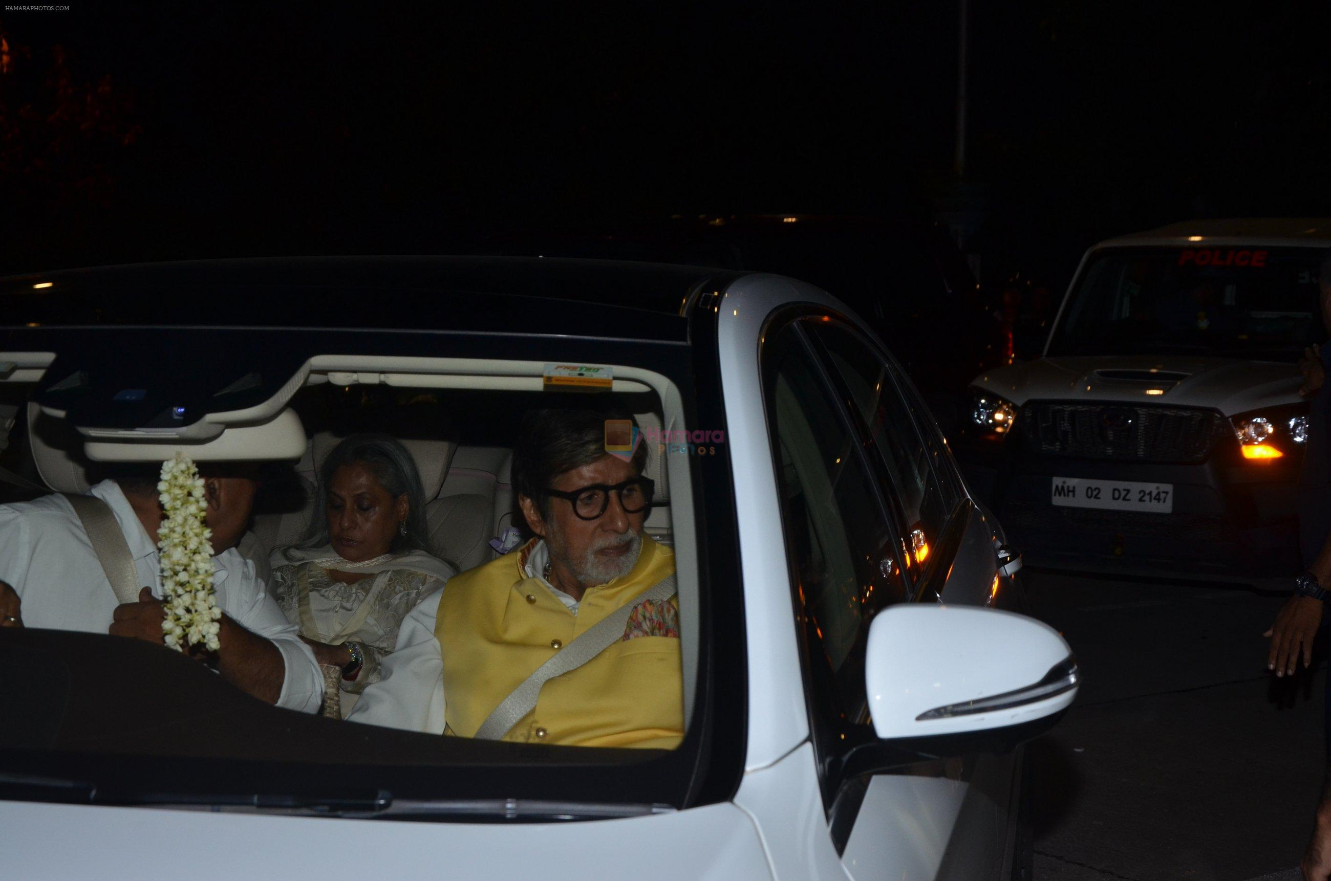 Amitabh Bachchan at Reema jain bday party in Amadeus NCPA on 28th Sept 2016