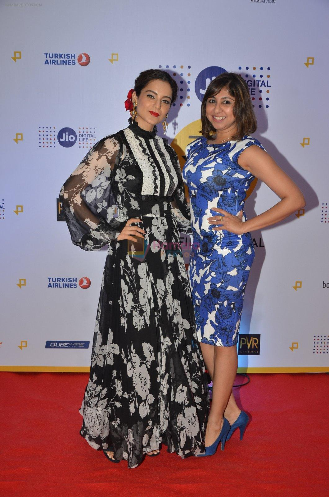 Kangana Ranaut at Jio Mami fest opening on 29th Sept 2016