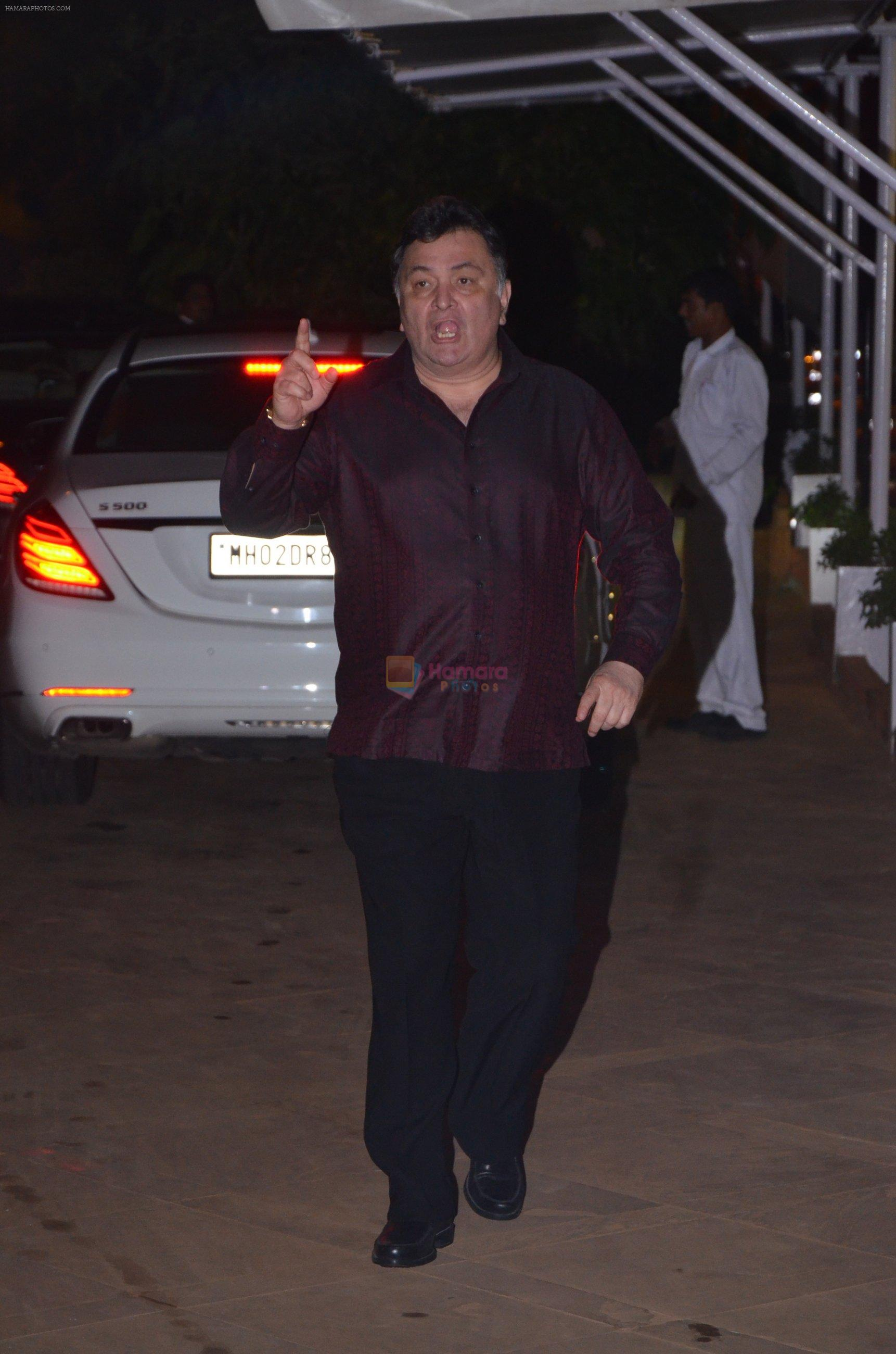 Rishi Kapoor at Reema jain bday party in Amadeus NCPA on 28th Sept 2016