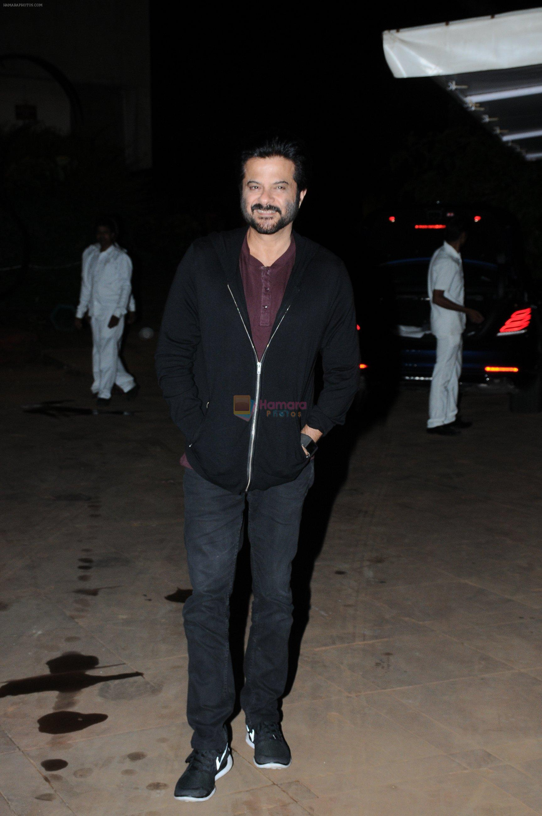 Anil Kapoor at Reema jain bday party in Amadeus NCPA on 28th Sept 2016