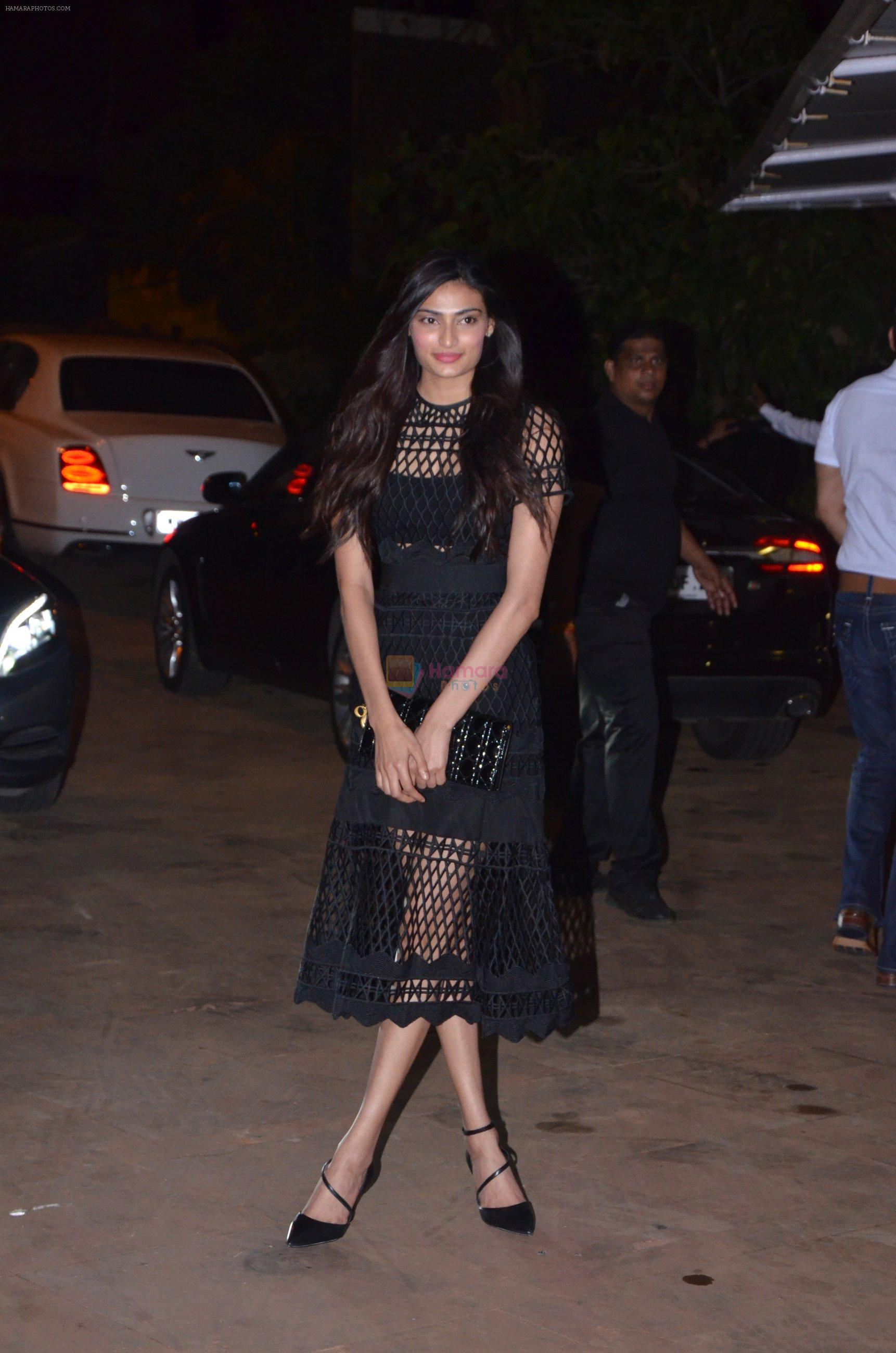 Athiya Shetty at Reema jain bday party in Amadeus NCPA on 28th Sept 2016