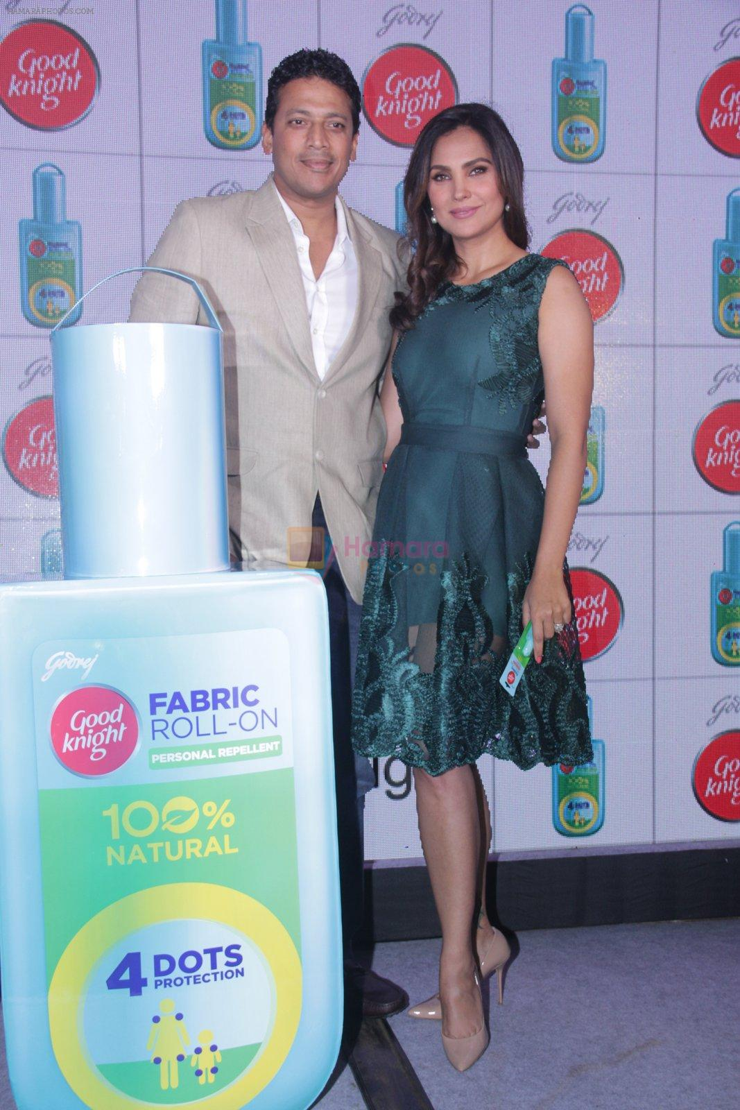 Lara Dutta, Mahesh Bhupathi promotes Good Night on 29th Sept 2016