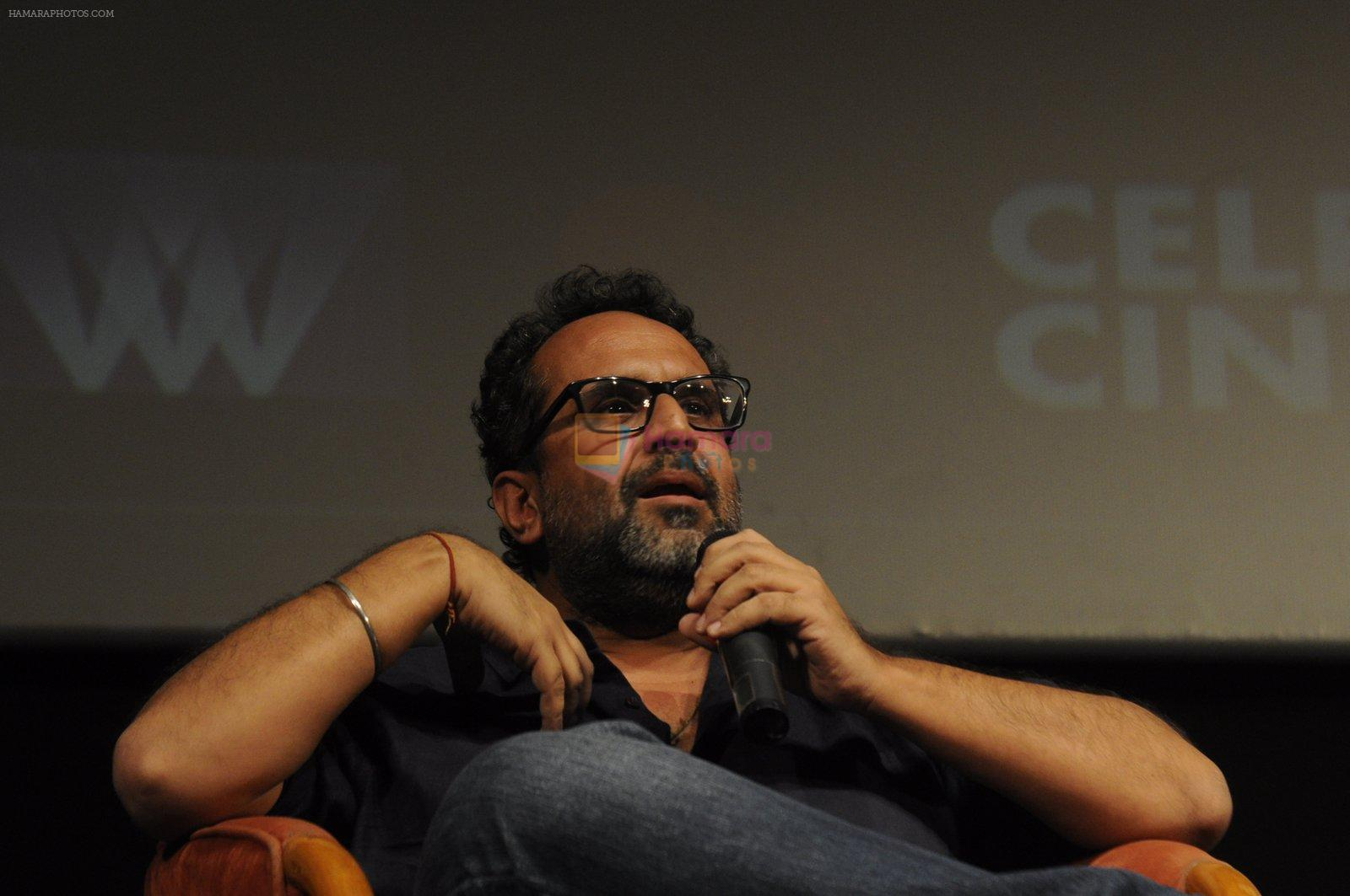 Anand L Rai at whistling woods on 29th Sept 2016