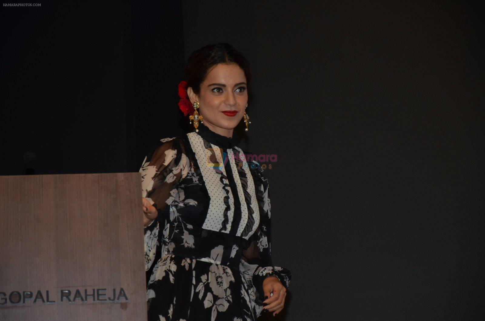 Kangana Ranaut At JIO MAMI Launch on 29.09.2016
