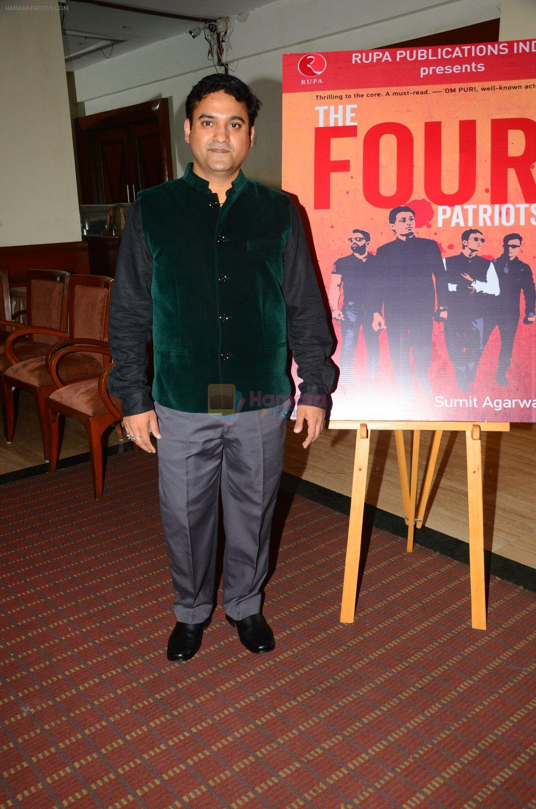 at Four Patriot book launch in Mumbai on 29th Sept 2016