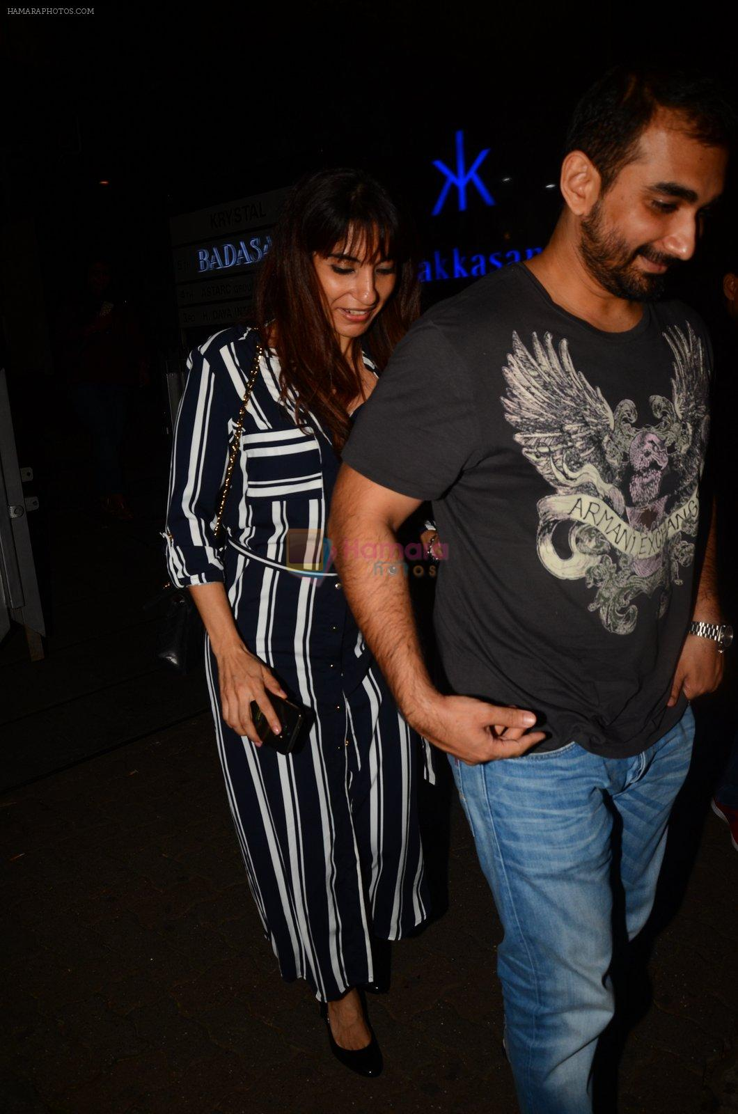 Kunal Deshmukh snapped post dinner on 30th Sept 2016