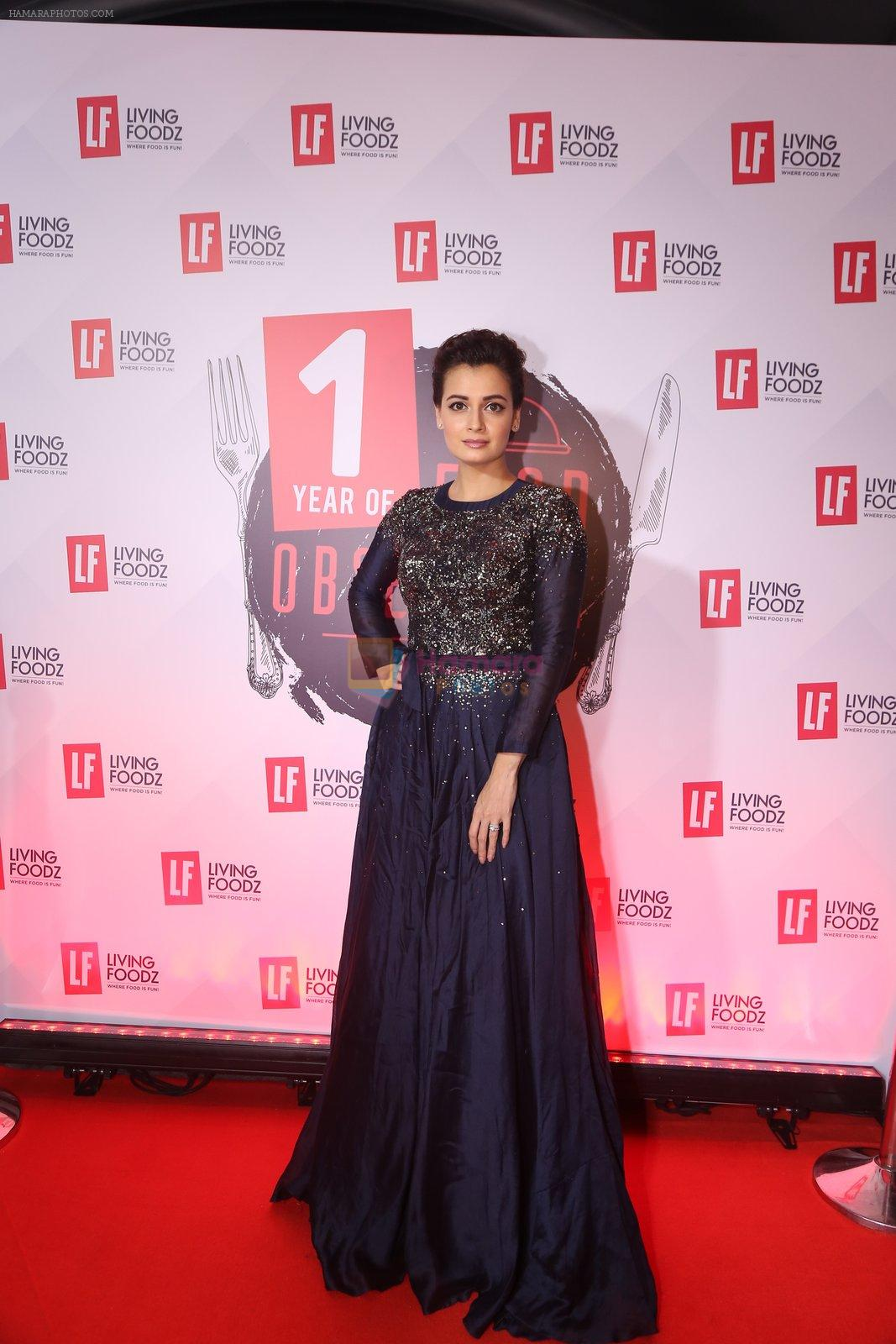 Dia Mirza at Living Foodz anniversary on 30th Sept 2016