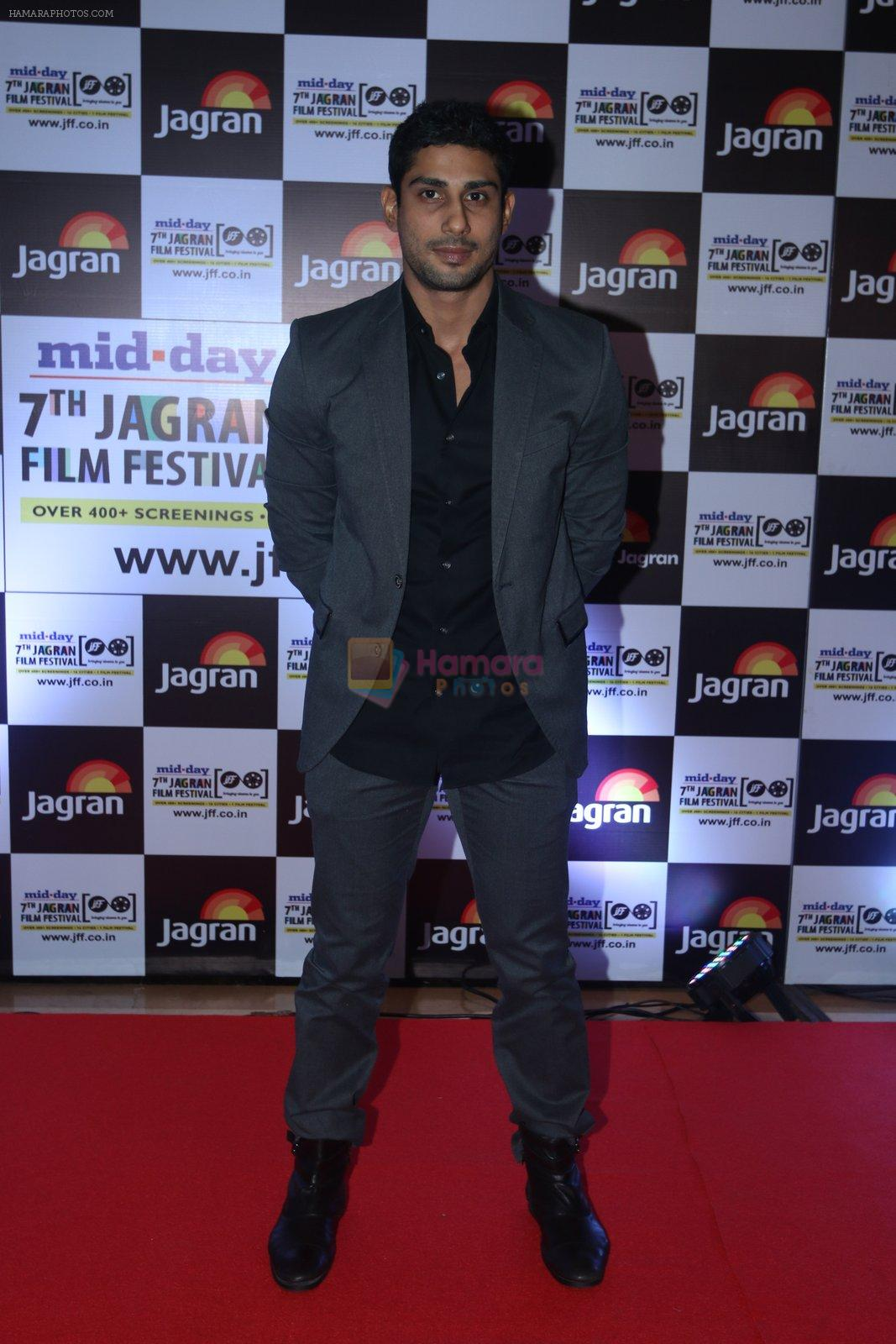 Prateik Babbar at Jagran Film fest awards on 30th Sept 2016