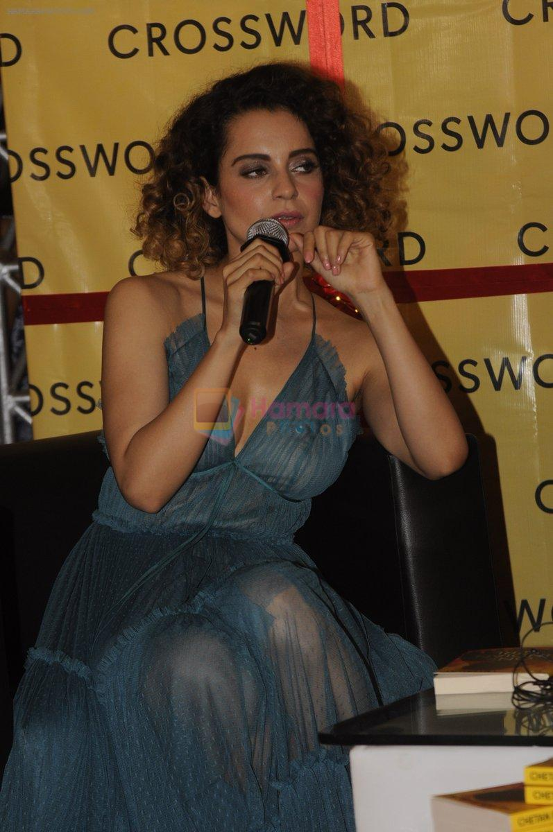 Kangana Ranaut at Chetan Bhagats new novel One Indian Girl launch in Oberoi Mall on 1st Oct 2016