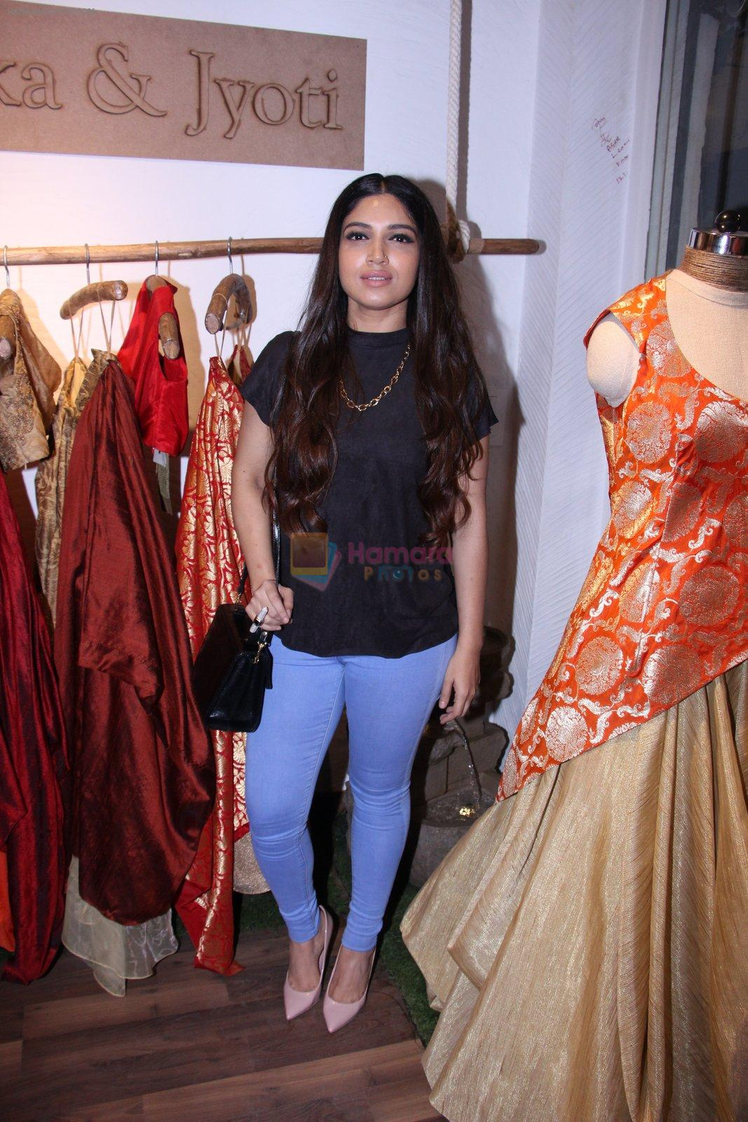 Bhumi Pednekar at Bhumika and Jyoti fashion preview on 1st Oct 2016