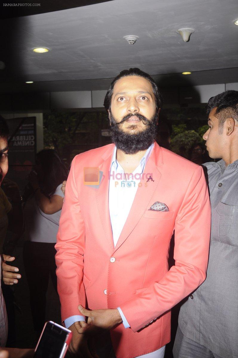 Riteish Deshmukh at whistling Woods Celebrate Cinema_16 event at Filmcity Goregaon on 1st Oct 2016