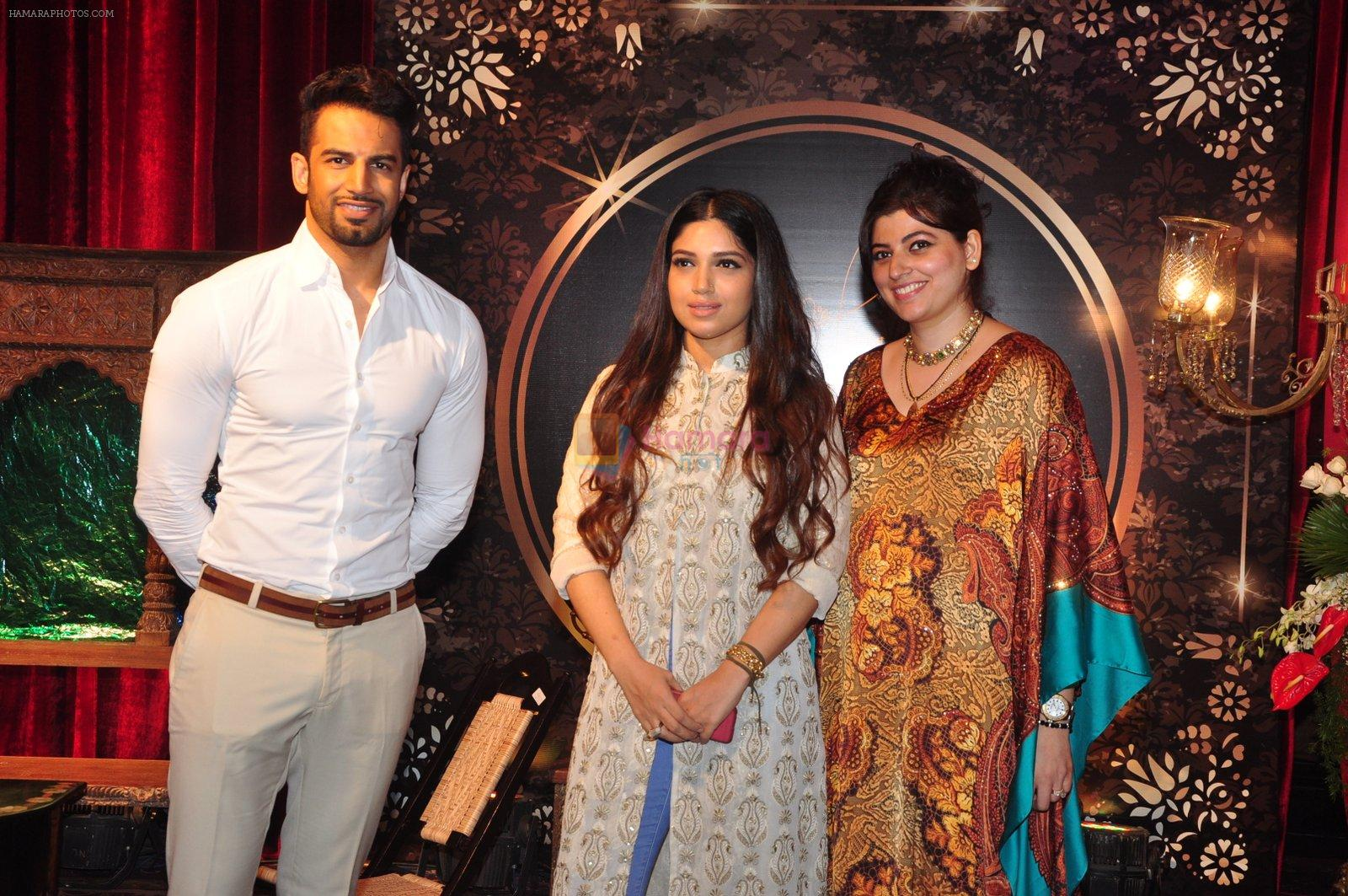 Upen Patel, Bhumi Pednekar at Naafia Naazish exhibition on 1st Oct 2016