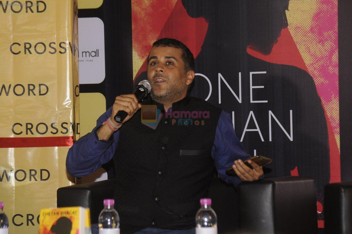 Chetan Bhagats new novel One Indian Girl launch in Oberoi Mall on 1st Oct 2016