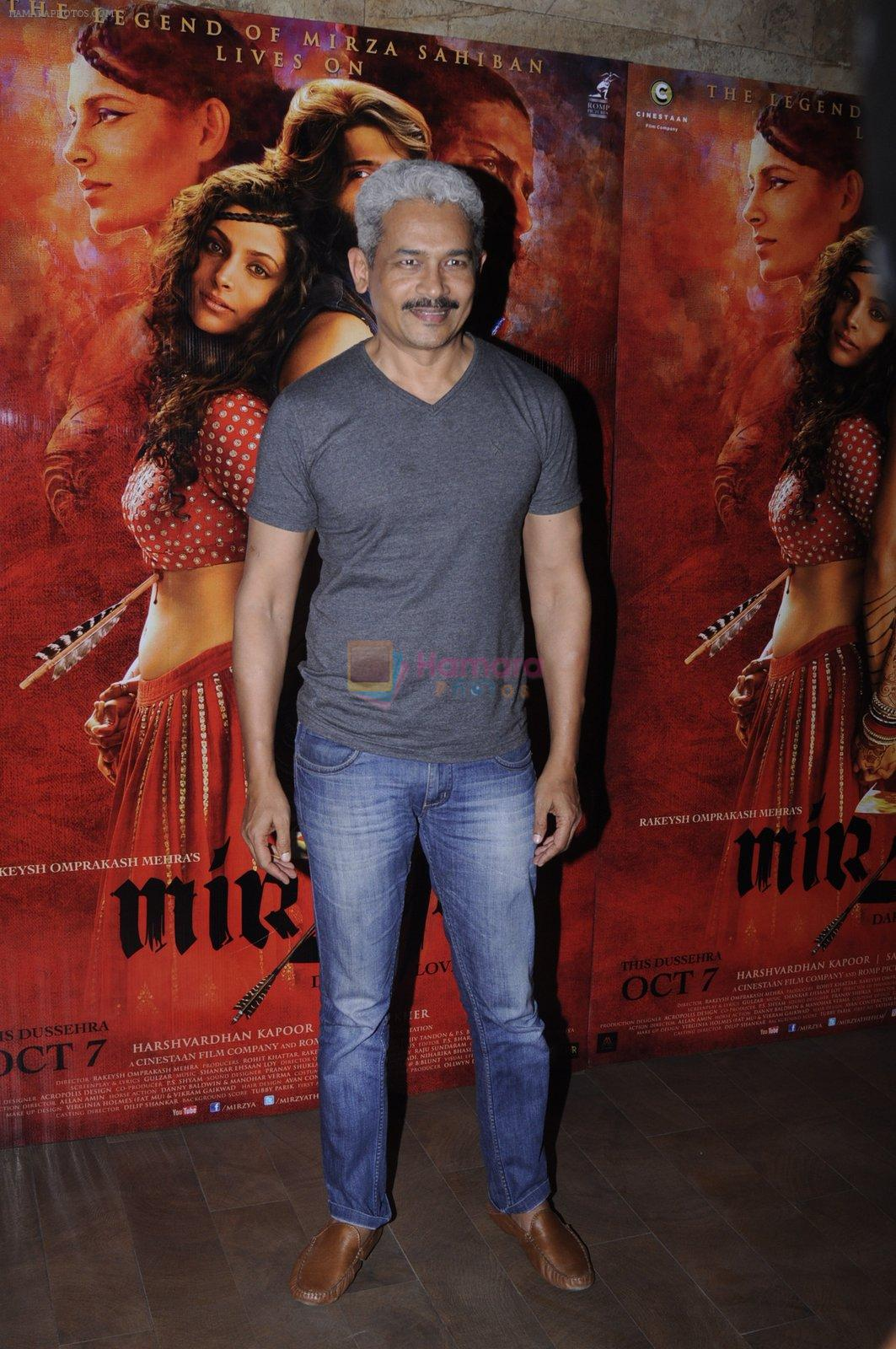 Atul Kulkarni at Mirzya screening on 30th Sept 2016
