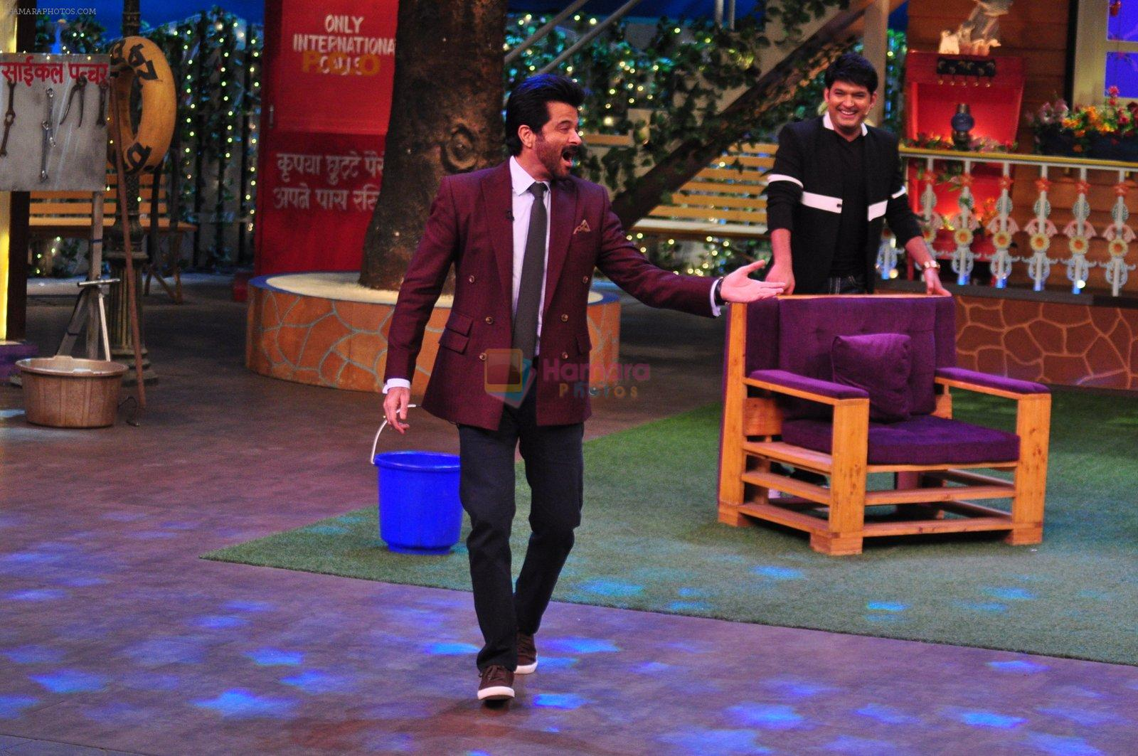 Anil Kapoor promotes Mirzya on the sets of The Kapil Sharma Show on 30th Sept 2016